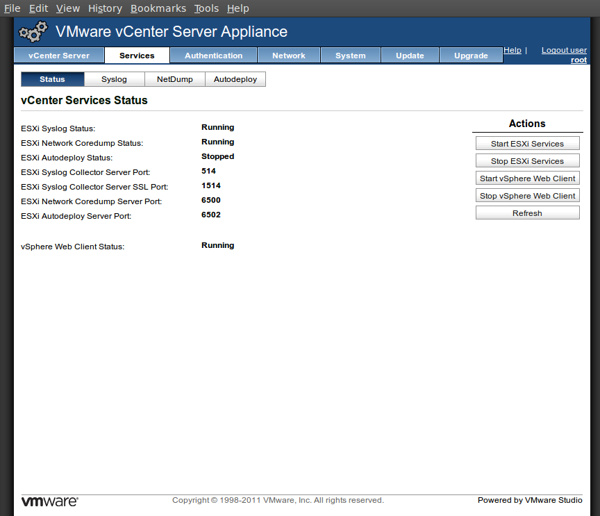 screenshot-vcenterserverappliance-services