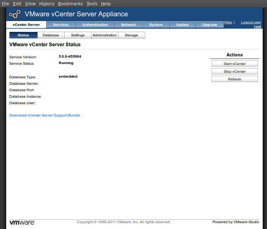 screenshot-vcenterserverappliance-status